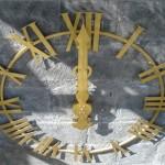 Cadran squelette doré à la feuille - Fougeré 49