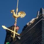 Pose de croix + coq + paratonnerre _ Menestreau en Villette - 41