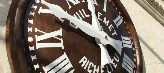 Restauration du cadran de Richelieu – 37